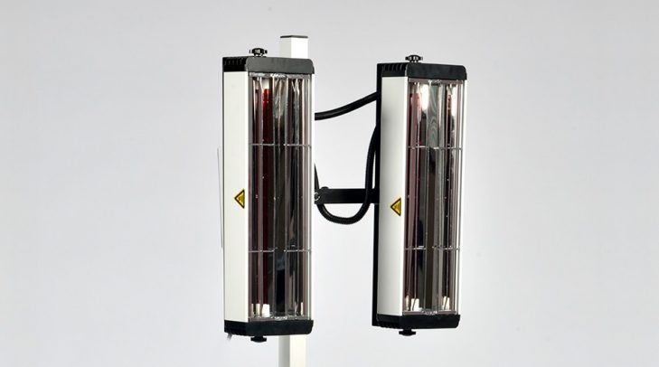 It 2000 Infrared Paint Curing Lamp Amp Drying System Infratech