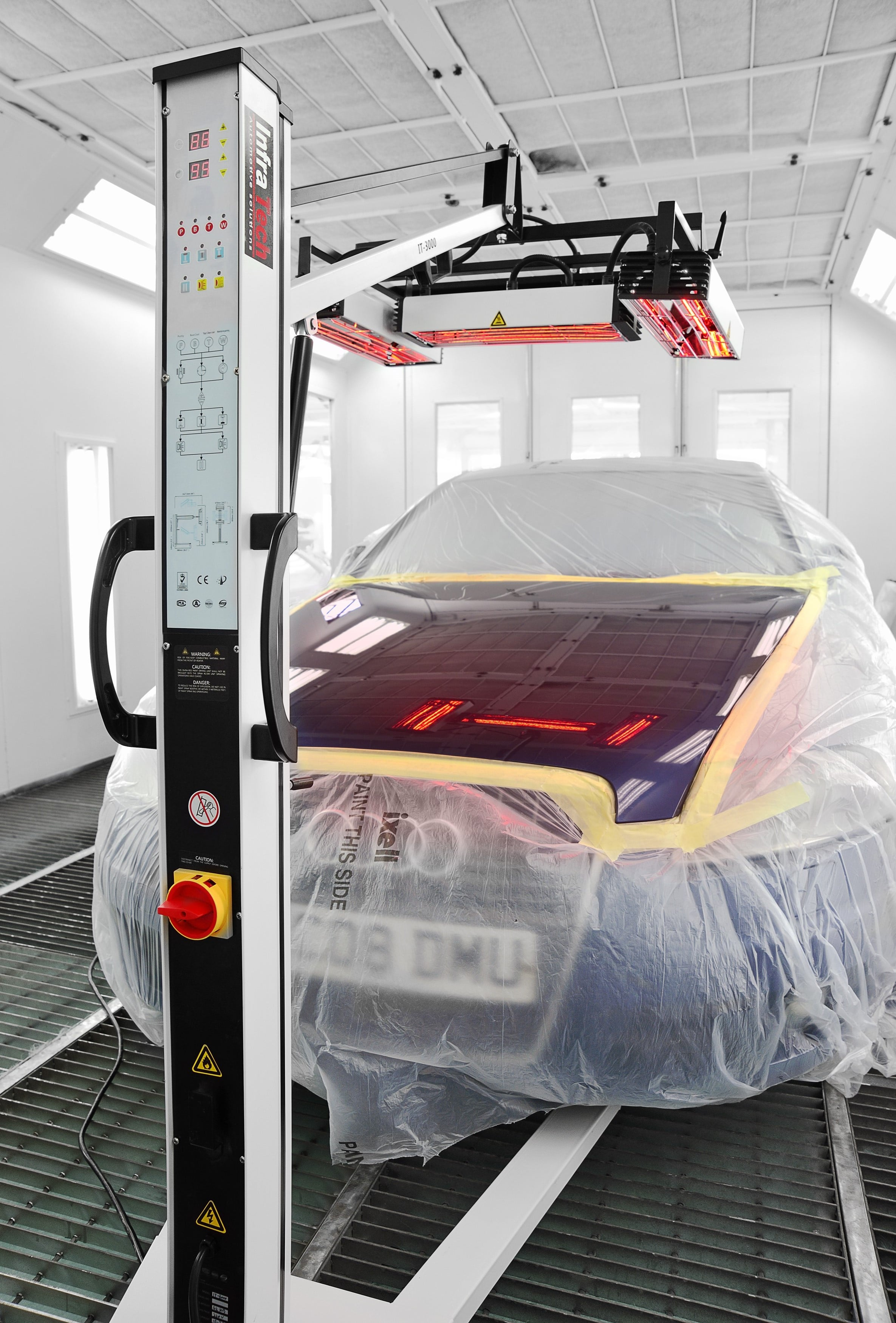 other uses for infratech's infrared curing lamps