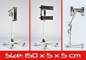 Mid-Range Heat Lamps - Size Guide