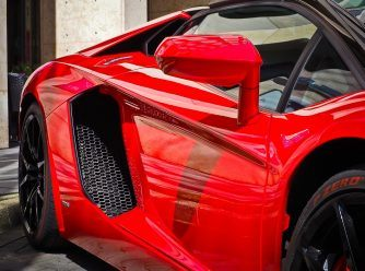 Lamborghini Car with Ceramic Coating