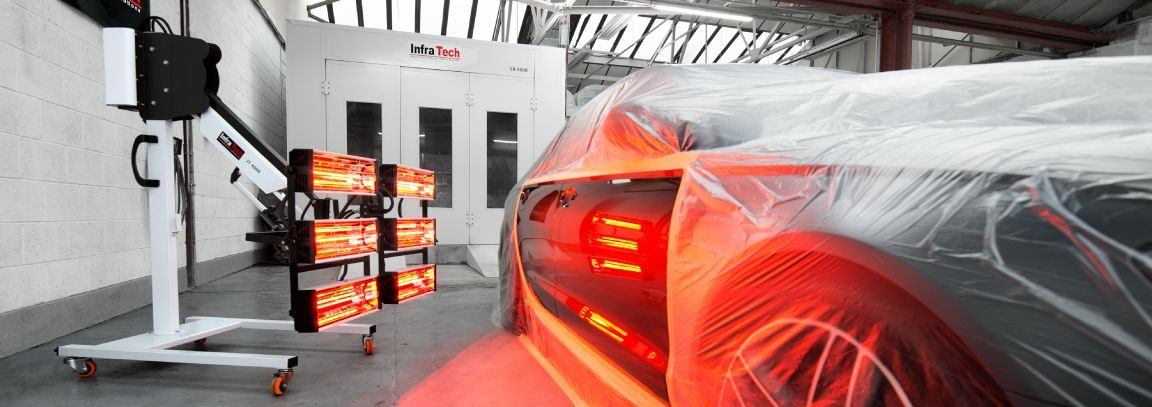 Infrared Paint Curing Lamps Infratech Automotive Solutions